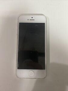 Apple iPhone 5 - 16GB - White & Silver (Verizon) A1429 (CDMA + GSM)