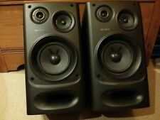 Pair of Sony SS-H3800 Speakers - Hi-Fi Stereo Loudspeakers