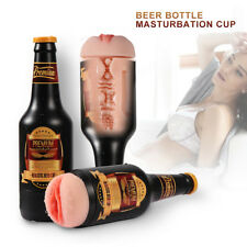 Men-Masturbators-Realistic-Pussy-Vagina-Masturbation-Cup-Silicone-Beer-Bottle
