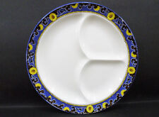 "Royal Winton / Grimwades Divided Dish - 3 compartment (10 1/4"") a/f - crazing"