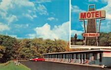 COTEAU DU LAC, Quebec Canada    MOTEL DES ERABLES    Roadside Chrome Postcard