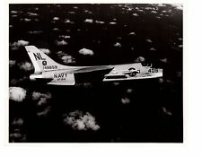 Vought Crusader F8D VF-154 Coral Sea Navy Fighter Aircraft Photo 8x10 1965