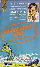 (Matt Helm) Murderers' Row by Donald Hamilton