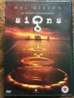 MEL GIBSON SEÑALES ~ 2002 ALIEN Maíz Círculos / INVASION Horror Sci-fi GB DVD