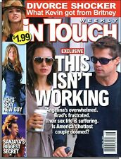 In Touch Weekly - 2007, April 16 - Brad and Angelina: This Isn't Working
