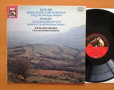 EL 27 0146 1 Elgar Serenade For Strings Parry English Suite Richard Hickox NM/VG