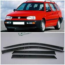 For VW Golf 3 Variant/Wagon 1993-1999 Window Visors Rain Guard Vent Deflectors