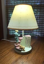 Vintage Charpente Walt Disney Winnie The Pooh & Christopher Robin / Nursery Lamp