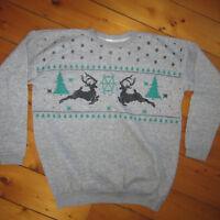 Award Winning Ugly Tacky Christmas Sweater Dirty Snowman Mens