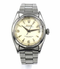VINTAGE ROLEX OYSTER PERPETUAL 6580 WRISTWATCH CAL 1030 STAINLESS STEEL c1954