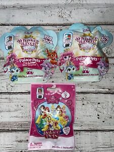 Disney Palace Pets LOT 3 Blind Bags Whisker Haven Tales Pop & Stick Series 1 & 2