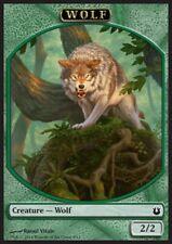 MRM FRENCH 4x Token - Jeton Wolf - Loup 2/2 MTG magic BNG