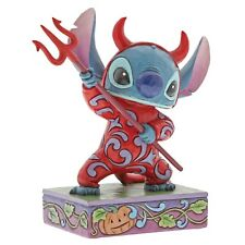Disney Traditions Devilish Delight Stitch Figurine Ornament 15cm 6000951 New