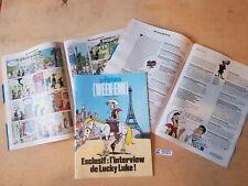"""(62) Lucky Luke l'interview journal le parisien week-end  """" un cow-boy à Paris """""""