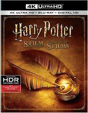 Harry Potter 8-Film Collection 4K ULTRA HD +BLU-RAY +DIGITAL Brand New & Sealed