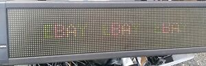 Programmable Sign - Adaptive Micro Systems Alpha 7120C w/ Remote