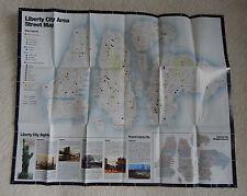 Rockstar Games Grand Theft Auto IV GTA 4 Liberty City Promo Map Poster Rare