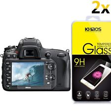 [2-Pack] KHAOS Glass Screen Protector For Nikon D4s / D600 / D610 / D800 / D800e