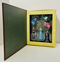RETIRED Disney Sleeping Beauty Christmas Storybook Ornament 6Pc Box Set