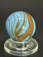 Christensen Agate Co. Multi Color Flame Marble  Christensen Flame Marble 0.629
