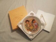 "Mother's Day Mini Collector's Plates, Avon, 81, 82, 84, 5"" Vintage Set of 3"