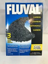 Hagen Fluval Carbon Bags 3 Pack 3x100g NEW