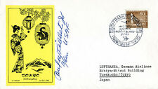 ENOLA GAY CREW (PAUL W. TIBBETS) - COMMEMORATIVE ENVELOPE SIGNED