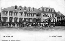 Old Photo.  Bay St. Louis, Mississippi.  St. Joseph's Academy