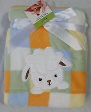 Newborn Baby Bedding Blanket Soft, Cozy, Snuggly Sweet Sheep