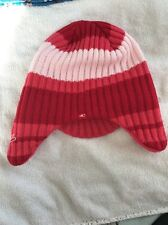 Ladies One'll Hat Red Pink Winter Wolly <JJ439