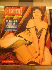 MASCOTTE N°28 1958 AICHE NANA' B.JOANS BIAGINI M.ALLASIO D.ROCCA S.MILO J.REDING