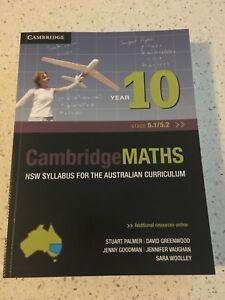 Cambridge Mathematics NSW Syllabus for the Australian Curriculum Year10 5.1, 5.2