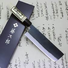 Japanese Knife Tojiro Sushi Chef White Steel Shirogami Black Finished Nakiri F/S
