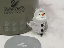 Swarovski Crystal Snowman Limited Edition #7475 000 605 Retired in Box