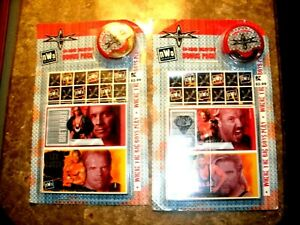 LOT OF 2 PACKS OF 40 NWO/WCW VALENTINE CARDS W/STAMPER SEALED ORIGINAL PACKAGES