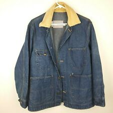 Vintage 80s Sears Denim Choir Jacket Men's Size Medium