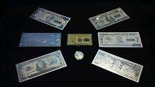 -Hot Lot~9Pc.Lot~999 Silver-500/1K/5K/10K/100K /1Mil W/Coa+Clad Coin/Silver Flake