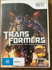 Wii Game: TRANSFORMERS - Revenge of the Fallen  Rated M