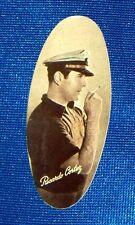 Ricardo Cortez 1934 Carreras Film Star Oval Cigarette Card