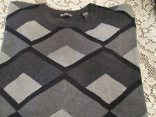 NEW ARGYLE SWEATER BY BRANDINI SIZE L