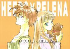 """Gundam Wing Doujinshi """" precious delicious """" Heero Relena W"""