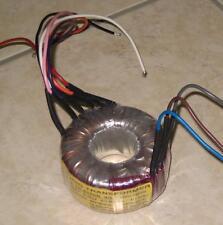 TRASFORMATORE AUDIO 100V 50W TR-TOROIDALE  x impianti 100 volt  completo di viti
