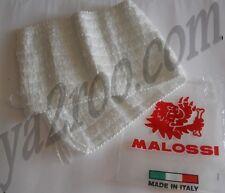 laine silencieux echappement MALOSSI en fibre de verre cousu pour Ø70 NEUVE