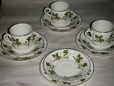 VINTAGE LOT OF 11 ARKLOW REPUBLIC OF IRELAND IRONSTONE DISHES POTTERY GREEN LEAF