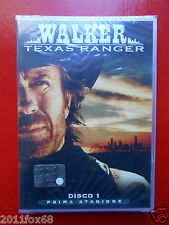 walker texas ranger n.1 prima stagione chuck norris films film dvd's tv series