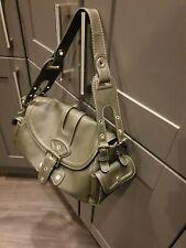 Mango MNG Ladies Dark Green Shoulder Grab Bag Handbag Excellent condition