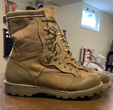 "Danner Usmc Rat 8"" Mojave Steel Toe Boots - Size 12"