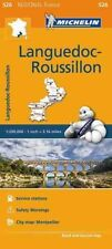 Languedoc Roussillon Map 526: Michelin Regional Maps: France