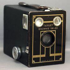 TARGET BROWNIE SIX-20 BOX Vintage Film Camera by EASTMAN KODAK * USA * CLEAN!