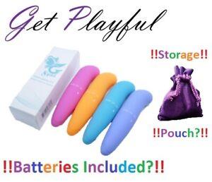 Bullet Vibrator Waterproof Vibrating Mini Rabbit G-Spot Clitoris Adult Sex Toy